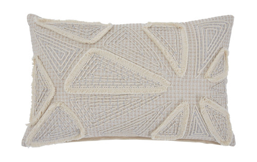 Ashley Irvetta Taupe/Cream Pillow (4/CS)