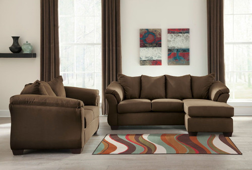 Ashley Darcy Cafe Sofa Chaise & Loveseat