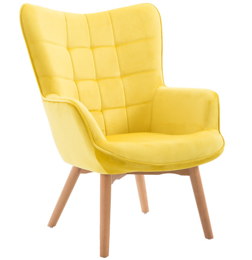 Emerald Margo Accent Chair, Yellow