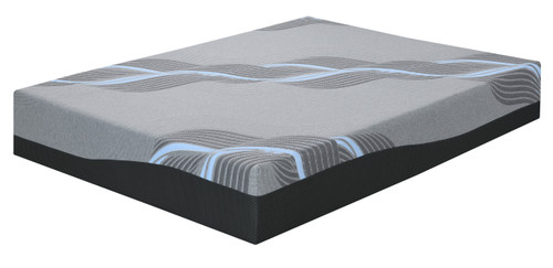 "Emerald Emerald Mattress Starlight 12""Gel- Memory Foam Cal King 6/0"