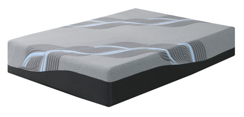 "Emerald Emerald Mattress Midnight 14""Gel- Memory Foam King 6/6"