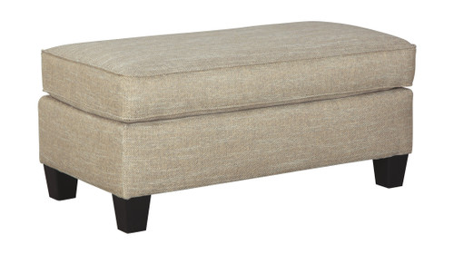 Ashley Almanza Wheat Ottoman