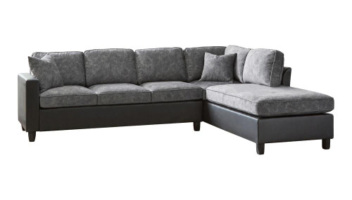 Coaster Pewter - Sectional (552040)