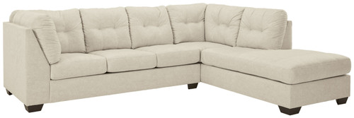 Ashley Falkirk Parchment LAF Sofa/Couch, RAF Corner Chaise Sectional