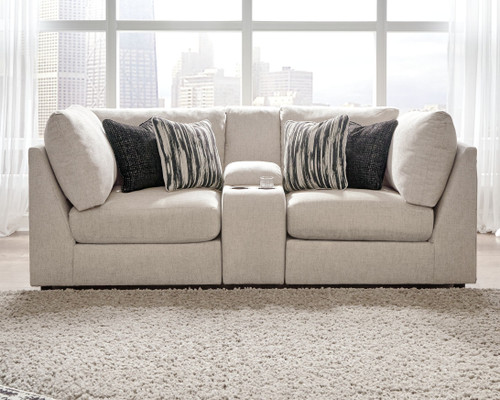 Ashley Kellway Bisque Sectional