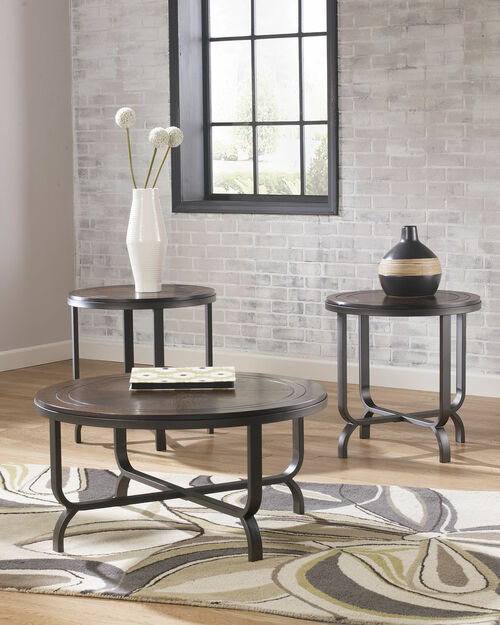 Ashley Ferlin Occasional Table Set