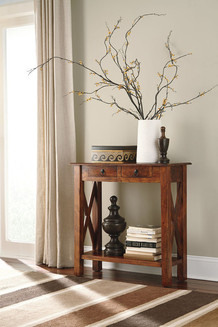 Ashley Abbonto Console Sofa/Couch Table