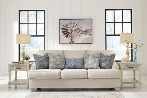 Ashley Traemore Linen Sofa/Couch