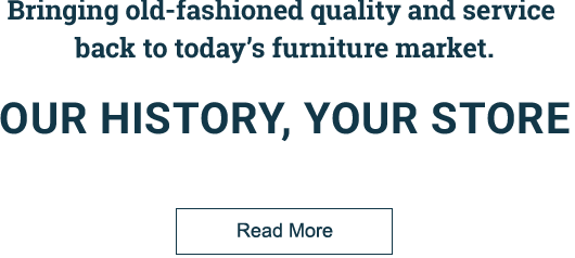 Our History, Your Store