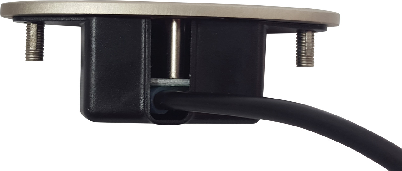 Okin 2 button handset for power recliners and lift chairs. Ip20 silver face hand control is a perfect replacement for most power recliners, and sofas. 5 foot cable and round 5 pin style connector. Okin Dewert 53996 Hand Control Contact customer service for additional information and bulk pricing.