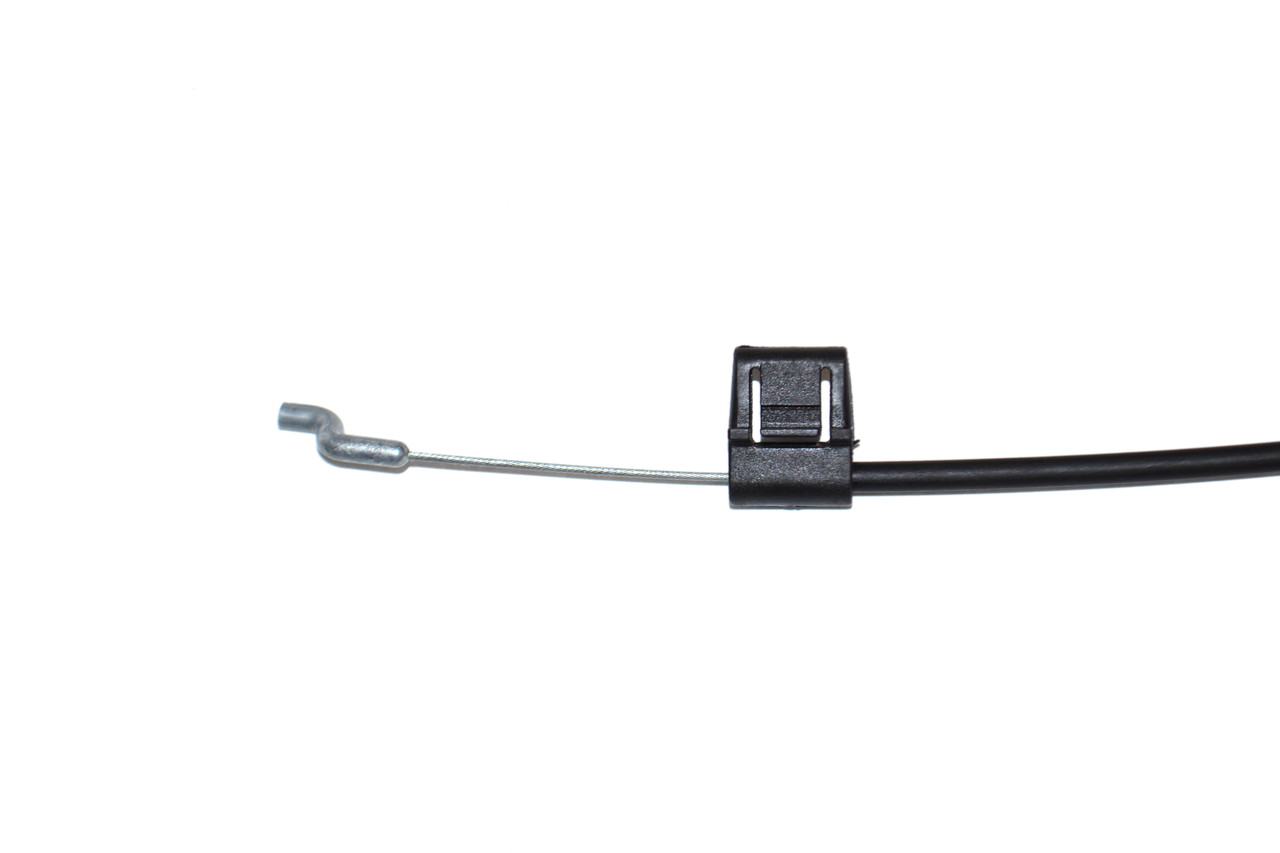 """D Pull For Recliners, 2 Inch Exposed Wire, Metal Wire in plastic, 40"""" Cable Length"""