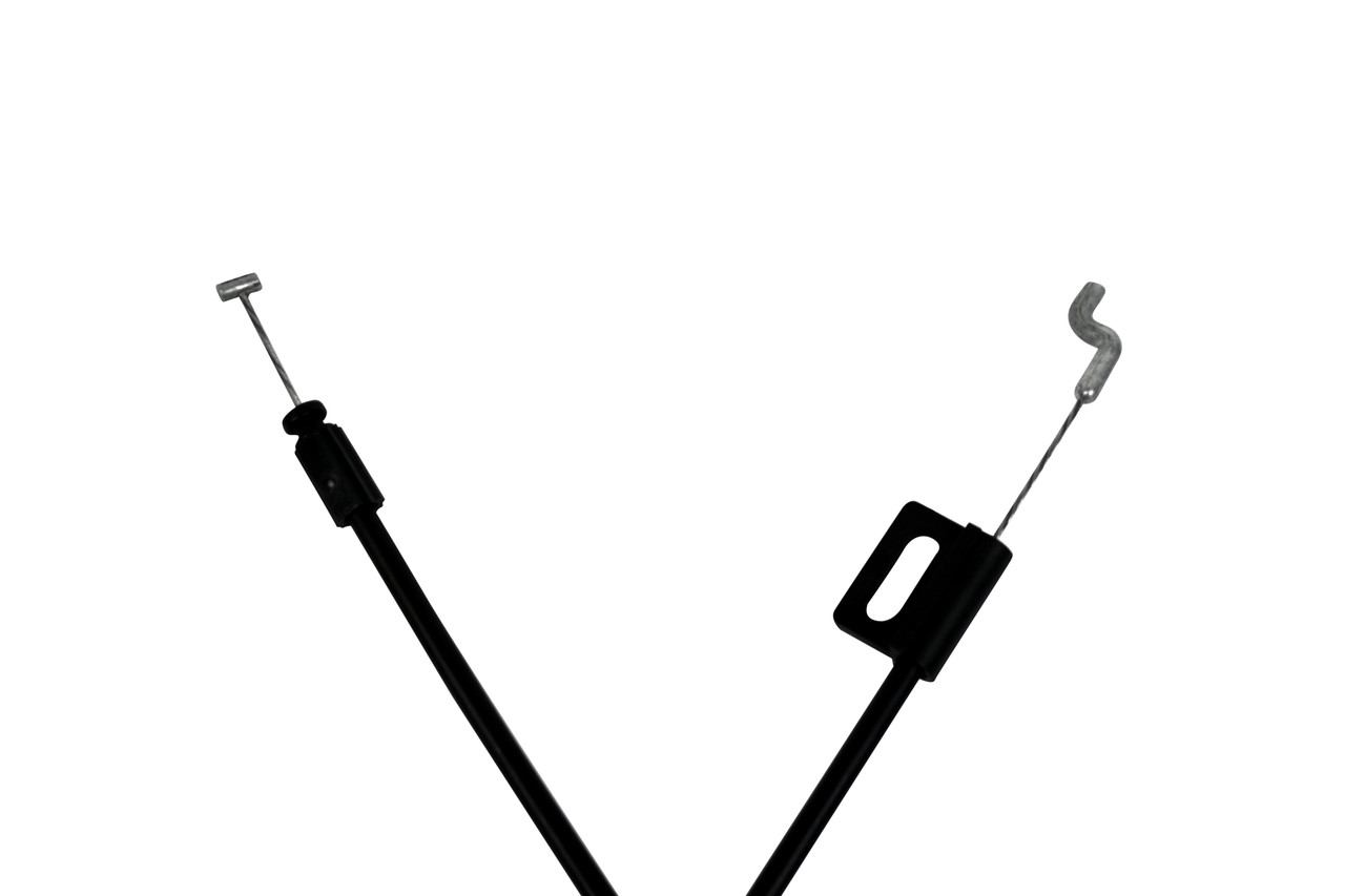 Replacement Recliner handle cable with 3.23 inch exposed wire, 3mm barrel handle connector and requires a compatible handle. Overall length is 47 inches and connects to the mechanism with a standard S-Tip. Repair or upgrade your recliner with our lovely recliner parts.