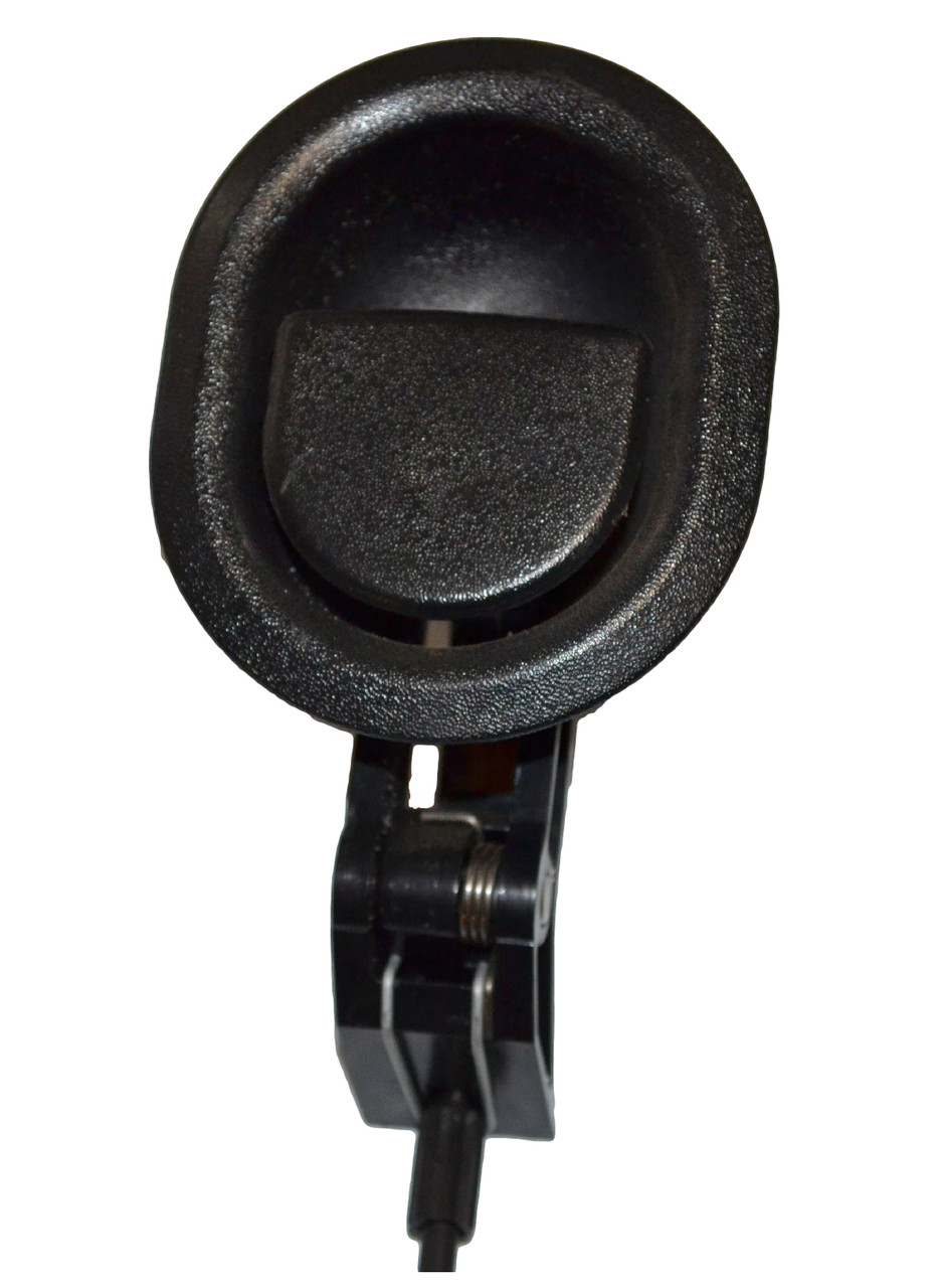 """Oval Tip 22/"""" 1.75/"""" Exposed Wire Flapper Recliner Handle Black"""