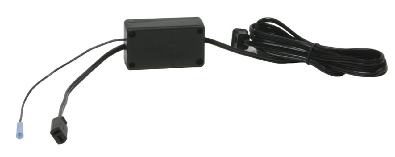 Each puck light is made of pvc plastic with one male connector plug. This puck light is a 120 volt light fixture with a 25 watt halogen bulb. It can be surface mounted or it can be installed in a cutout in the top panel of the cabinet. The diameter of the cutout is 3-3/8 inches. Kit includes puck, touch lead, 3 stage touch dimmer, and brass touch button. Perfect for use on display cabinets. Furnlite FC-737 Black. Contact customer service for additional information and bulk pricing.