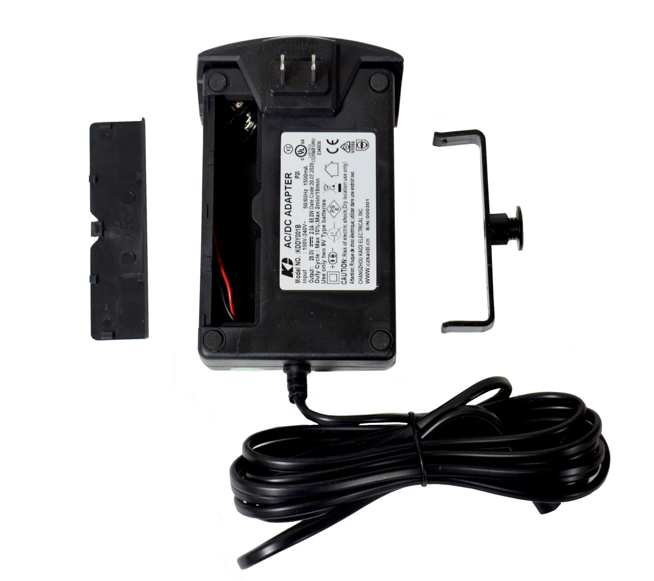 Kaidi Power Supply With 9V Battery Backup For Power Recliners, KDDY001B