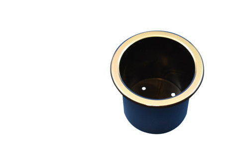 Recliner-Handles Brand replacement cup holder will restore the appearance of a recliner or sofa with cup holders have become worn. It will provide a secure location for your beverage. This item fits into an appropriate cup holder cavity in a couch sofa sectional or recliner. Once installed| the cup holder will safely hold a beverage container. This Cup Holder Measures 3 Inches tall and 3.25 Inches in Diameter. Features Chrome lip.