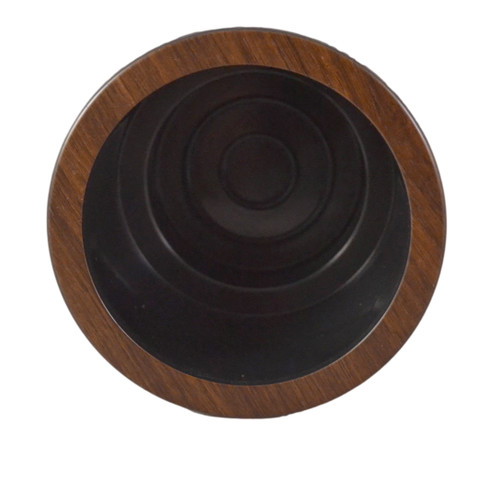 This replacement cup holder will restore the appearance of a recliner or sofa when your cup holders have become worn down. This is a two-tier cup with an inside diameter of 3.43 inches and an outside diameter of 4 1/3 inches good for holding most canned drinks and bottles. It needs to be being set into a cavity between 3-2/3 to 4-1/3 inches in diameter for a snug fit, with a height of 3 1/3 inches.  Contact customer service for additional Information and bulk pricing.