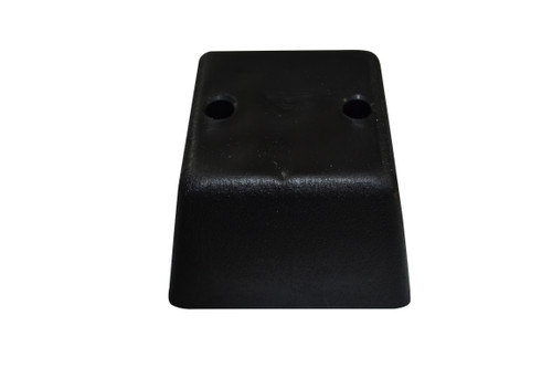 Black Plastic Square 2.5 Inch Leg For Sofas and Recliners a modern style leg with a Black  plastic exterior. This replacement leg is 2.25 Inches tall and is  4 Inches across Deep and Wide at the top of leg. This Leg Connects Using 2 Wood Screws that attach into Couch or Chair Bottom ( NOT INCLUDED). Restore your couch, sofa, ottoman, or any furniture with our beautiful replacement legs. Contact Customer Service For Additional Information and Bulk Pricing.