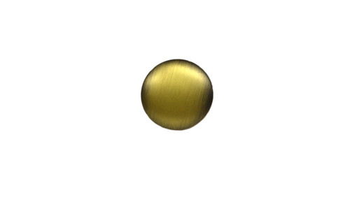 Touch sensor buttons with an Antique Brass finish. To be mounted upon touch sensor with plastic mounting craft (sold separately). The conductive button can be used on other circular shaped touch sensor controllers, but these are intended to be used with Raffel touch sensor part # CTR R2T 01 MW.