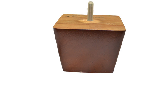 3 Inch Rectangular Style Wooden Leg With Cherry Finish For Chairs and Sofas. Sofa Chair Leg Measures 3 Inches Tall and 4.25 Inches Wide and 5.5 Inches Deep. Features Universal 5/16 Hanger Bolt For Installation. Contact Customer Service For Additional Information or for Bulk Pricing