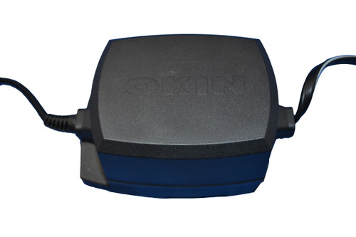 Okin Power Supply Transformer For Power Recliners and Lift Chairs. This Replacement Okin Power Supply Works With Many Brands Of Furniture that use Okin round six pin style Connector. Used on Delta Drive Motors and Lift Chairs with six pin style connector usually found on chairs that have heat and massage. Features Battery Backup. This Power Supply is Okin Part Number: 3.00.210.041.00