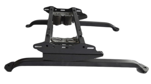 Replacement rocker recliner base 18 inch.  This rocker base has the cam 2 top mounted heavy duty rocker springs and 18 inch base as 1 unit.  This recliner repair part is needed to repair a rocker recliner that has a broken base that is 18 inches.  This furniture repair part measures 18 inch from outside to outside leg support to leg support across the width of the base.  This recliner repair part will help you fix that broken recliner and get your feet back up.  All our furniture repair parts are available for bulk purchase.  Contact us for details.