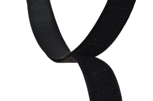 Sew On Hook and Loop For Fabric 1 Inch Wide Black.  Includes 25 Yards of Both the Hook and Loop Material. Each is 1 Inch Wide and has Easy to Sew Style back. Designed For Upholstery However Has Many Applications. This is the Non Adhesive Style Hook and Loop Material. Very Strong Hold when Pushed Together. Material Is Flexible and can bend to Contours and Curves of Surface. Contact Customer Service For Additional Information and Bulk Pricing.