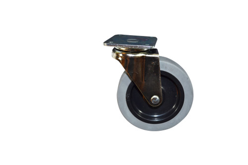 Caster Wheel with Swivel Plate. Rubber Wheel has 3 Inch Diameter By 7/8 Inch Wide Wheel. Swivel Plate is 2 Inch-by-1.75 inch plate with 1.56 Inch by 1.25 Inch Bolt Pattern.150-Pound capacity per Caster. Rubber tire is molded onto a hard Plastic hub. Contact Customer Service For Additional Information and Bulk Pricing.