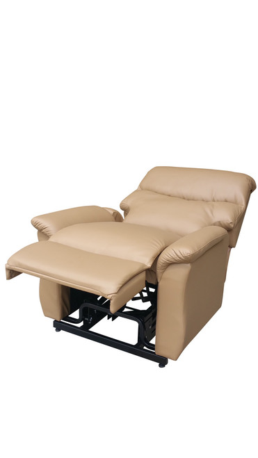 AdJUST4Me Brand, Pyxis style Full Size Lift Chair.  If you have trouble getting up and down in your seat the AdJUST4Me Lift Chair will help you take back your mobility without compromising comfort. This full size lift chair features a quiet motor to operate the power recline and lift, a solid metal lift mechanism, and easy to use power controls. Another key feature is the roll-away casters; simply tilt the chair back and easily move lift chair.  The lift chair measures 33 inches wide, 38 inches deep and 41 inches tall. The seat is 20 inches high, 20 inches deep and 22 inches wide. Contact customer service for additional information and bulk pricing.