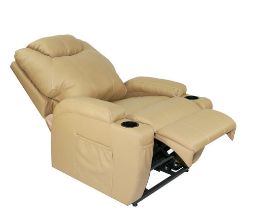 AdJUST4Me Brand Tucana Electric Lift Chair style Full Size Lift Chair. If you have trouble getting up and down in your seat the AdJUST4Me Lift Chair will help you take back your mobility without compromising comfort. This full size lift chair features a quiet motor to operate the power recline and lift, a solid metal lift mechanism, and easy to use power controls. Another key feature is the roll-away casters; simply tilt the chair back and easily move lift chair. Contact customer service for additional information and bulk pricing.