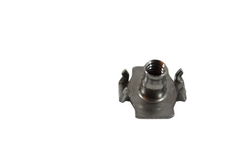 T-nut set of 4. This is a 10-24 X 3/8 Nut. Features 4 Prongs and has many uses. Contact Customer Service for Additional Information and Bulk Pricing.