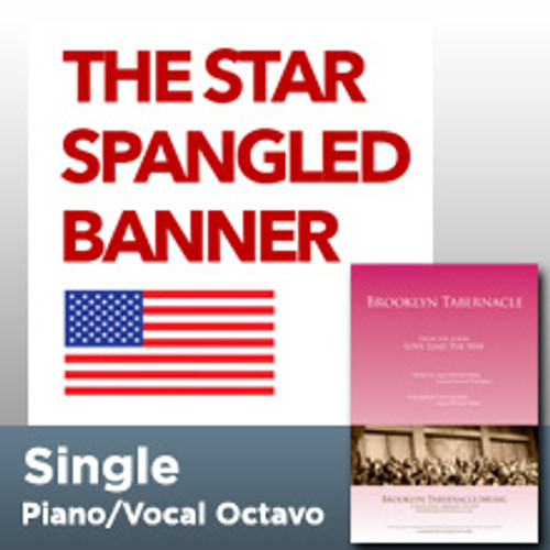 The Star Spangled Banner (Single Octavo)