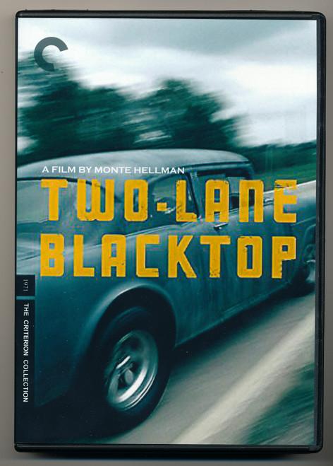 Two - Lane Blacktop  Criterion Edition