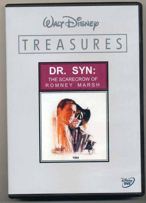 Dr. Syn: The Scarecrow of Romney Marsh, Disney 2 Disc Set