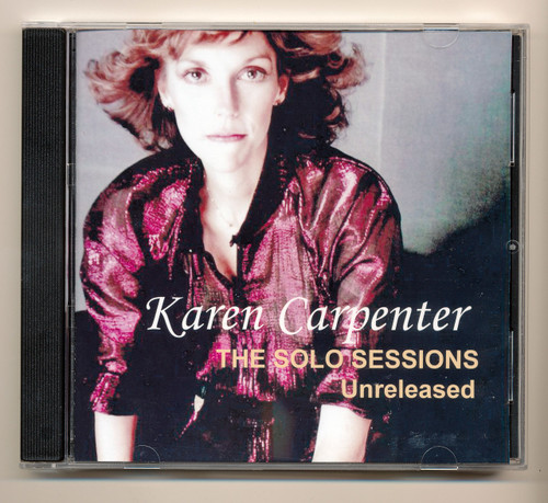 Karen Carpenter The Solo Sessions Unreleased CD
