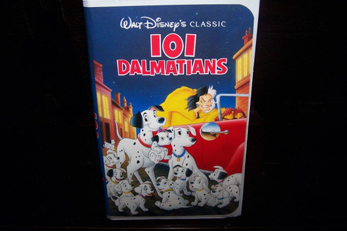 Disney's 101 Dalmatians - Black Diamond VHS