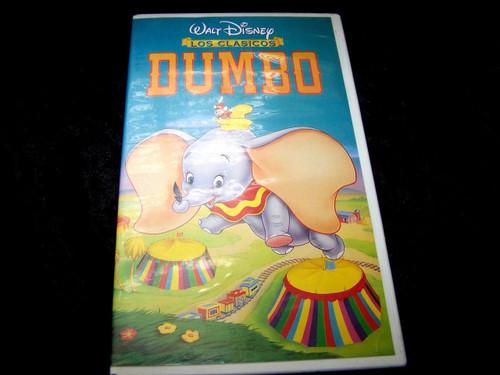 Disney's Classics DUMBO - Spanish Issue - Rare Blue VHS Tape