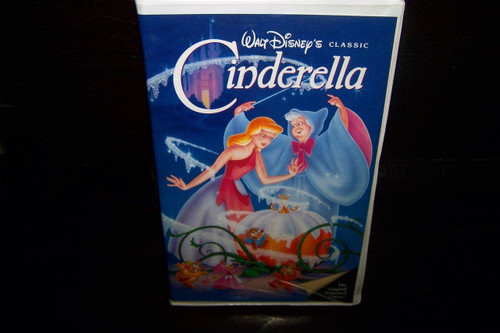 Disney's Cinderella VHS - Black Diamond Issue