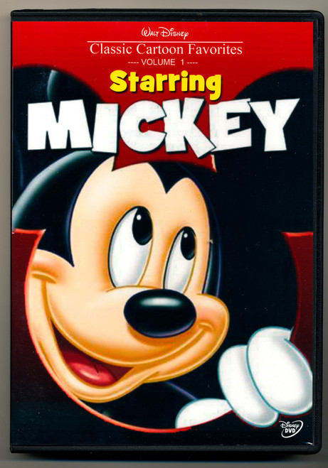 Disney Classic Cartoon Favorites Volume 1 STARRING MICKEY