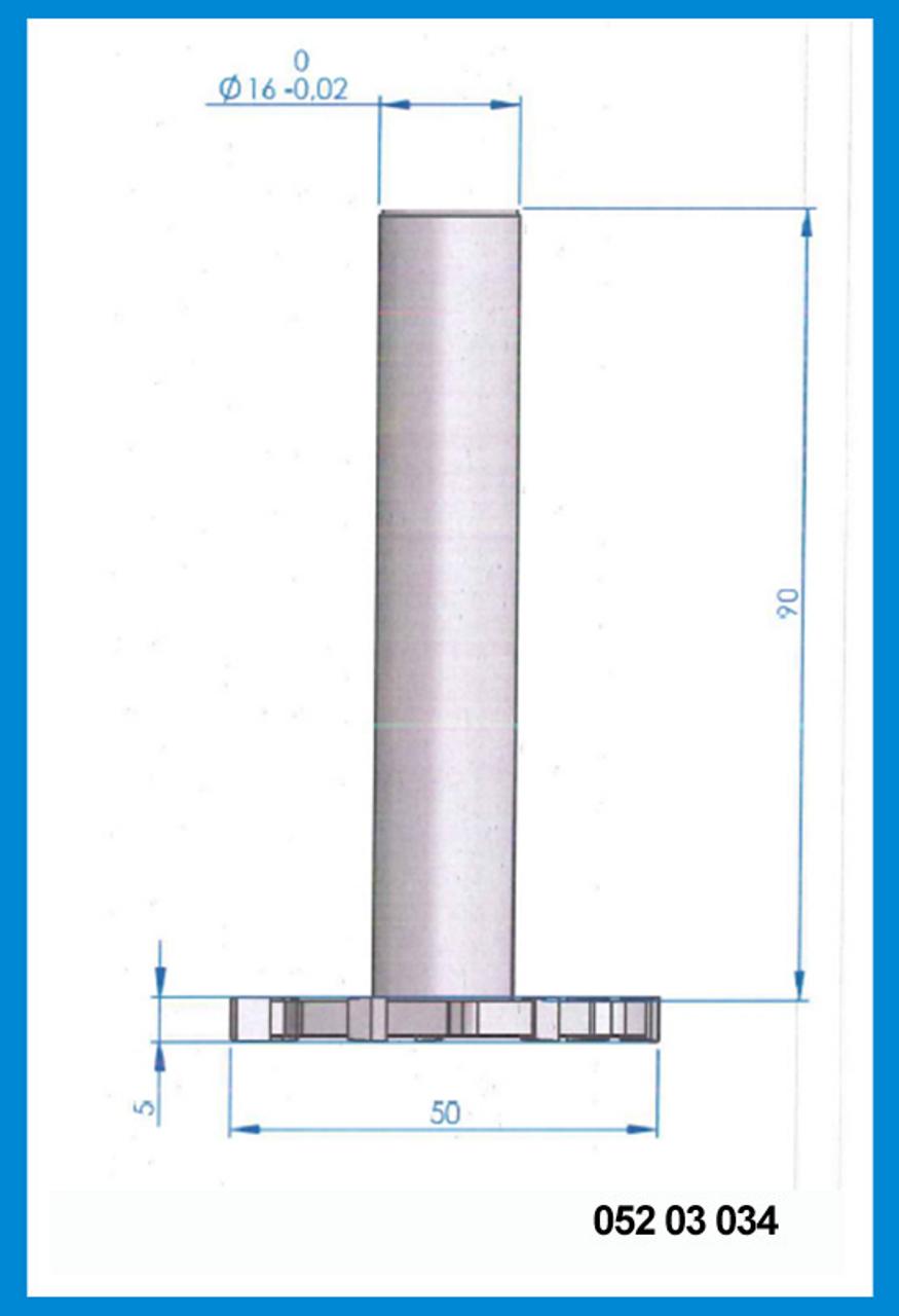 20mm Cutting Diameter 8mm Slot 8 Flute HSS T-Slot cutter shank End mill cutter