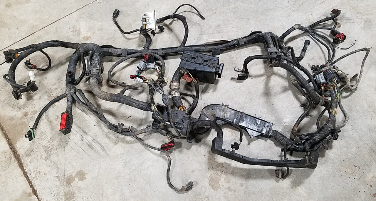 1993-1995 lincoln mark viii main engine bay harness with fuse box 4 6l dohc
