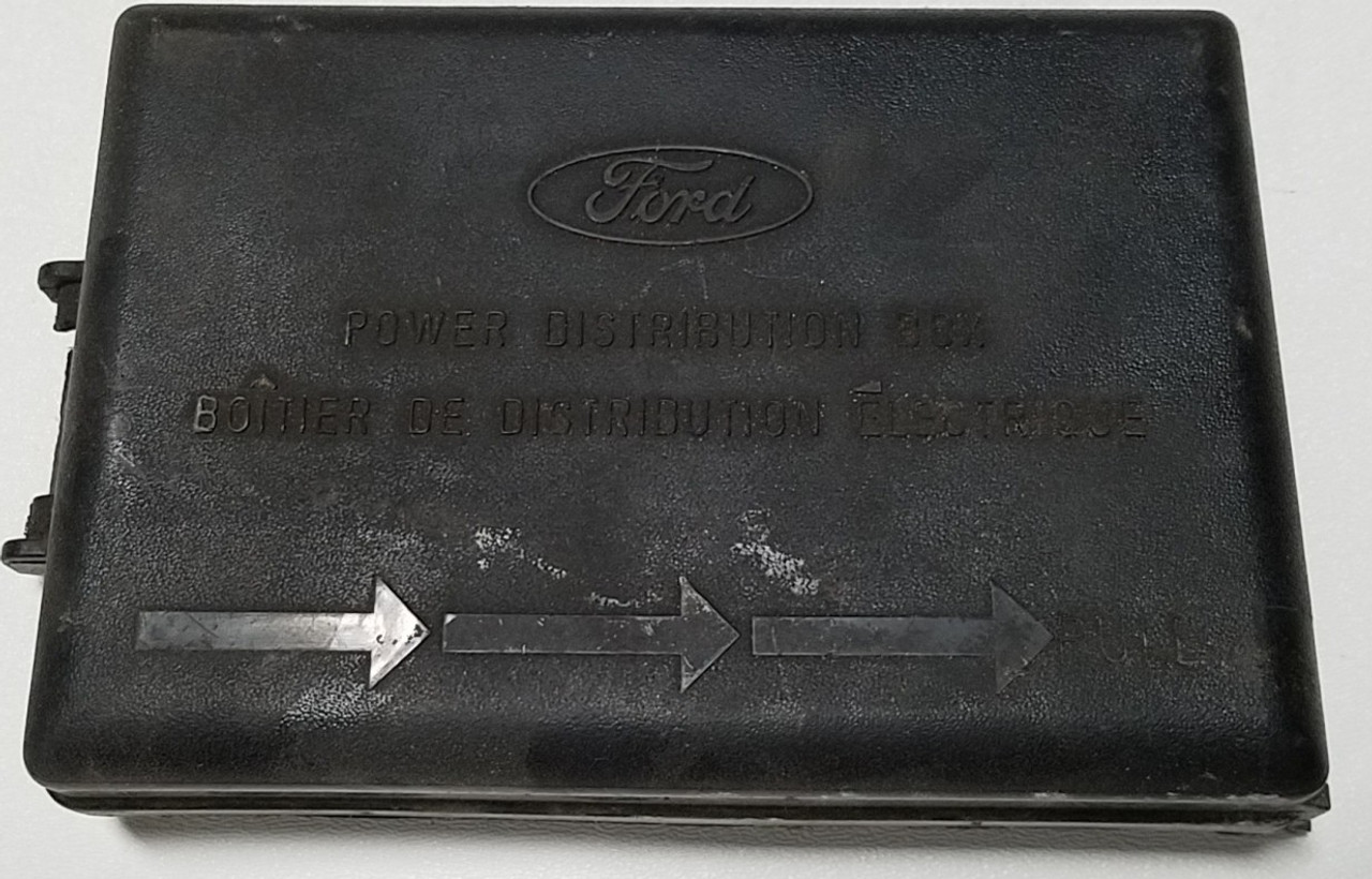 1997-1998 lincoln mark viii fuse box cover 4 6l dohc f65b-14a003-