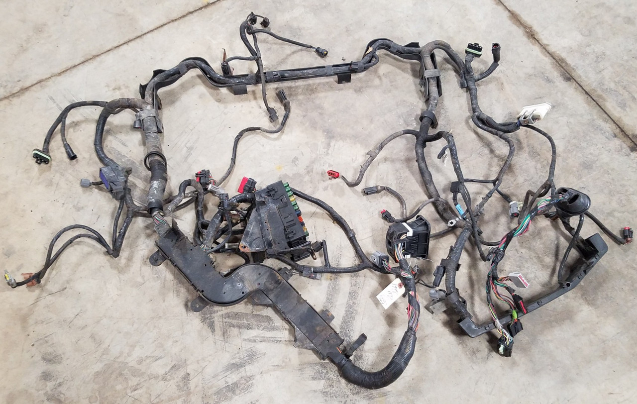 1998 lincoln mark viii main engine bay harness with fuse box 4 6l dohc