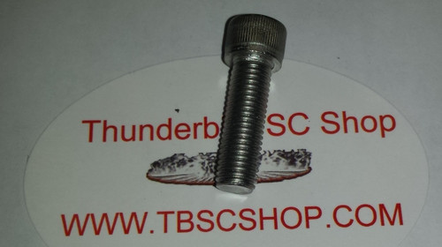 Water Pump Pulley or Jackshaft Pulley Bolt - Stainless Steel - 1989 - 1995 - Thunderbird and Cougar - WWW.TBSCSHOP.COM
