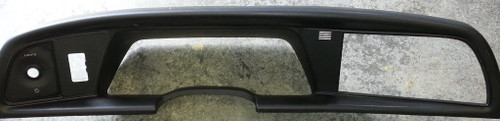 Gauge Cluster Finishing Panel Bezel - T-Bird - with Auto Light Climate Control Slot - 1992 - 1993 -  Thunderbird and Cougar - WWW.TBSCSHOP.COM
