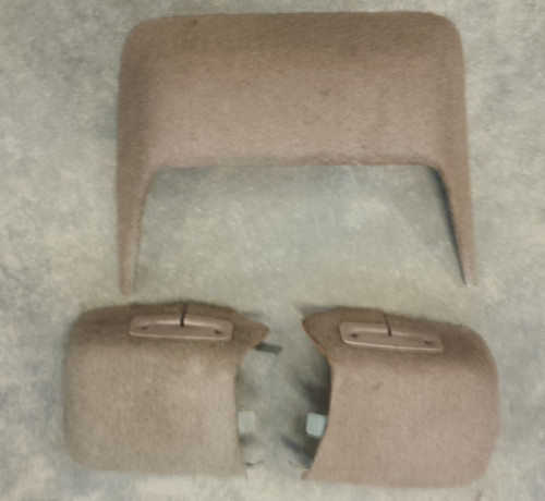 Rear Window Finishing Panels - Mocha - 1989 - 1993 Thunderbird and Cougar - WWW.TBSCSHOP.COM