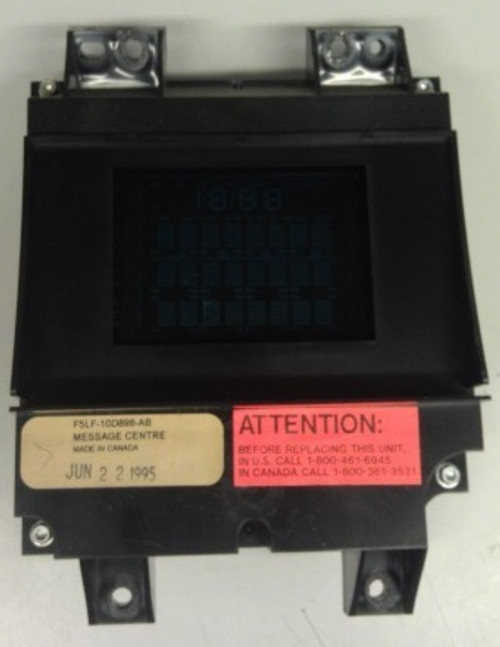 Lincoln Mark VIII - Vehicle Maintenance Monitor - 1993 - 1996 - WWW.TBSCSHOP.COM