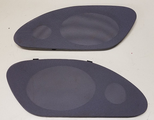 Lincoln Mark VIII - Rear Speaker Cover Set - Gray - 1993 - 1996 - WWW.TBSCSHOP.COM