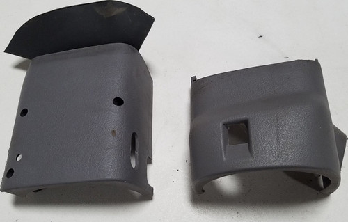 1993 1994 1995 1996 Lincoln Mark VIII Steering Wheel Finishing Panels Gray