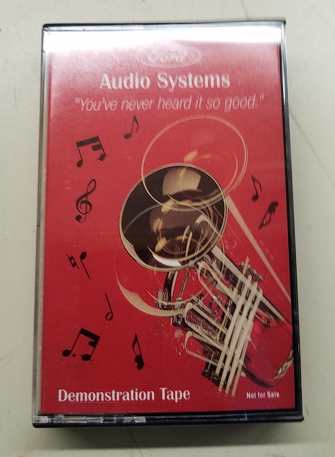 1989 - 1993 Thunderbird and Cougar Ford Audio System Demonstration Tape - WWW.TBSCSHOP.COM